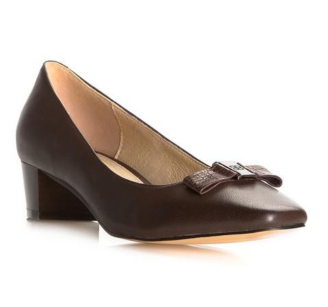 Női cipő, sötétbarna, 81-D-505-1-36, Fénykép 1