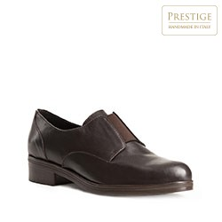 Női cipő, sötétbarna, 83-D-404-4-38, Fénykép 1