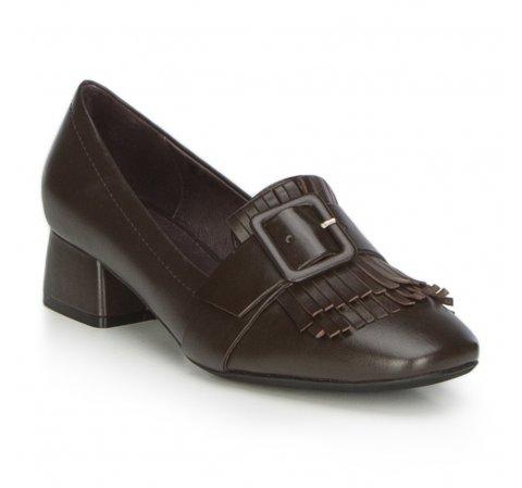 Női cipő, sötétbarna, 87-D-919-4-37, Fénykép 1