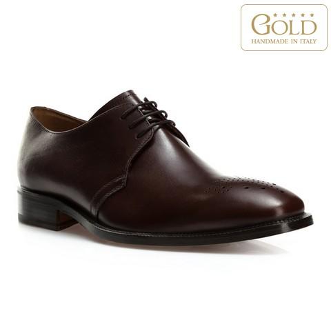 Férfi cipő, sötétbarna, BM-B-580-4-45, Fénykép 1