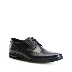 Férfi cipő, sötétkék, 83-M-801-7-46, Fénykép 1