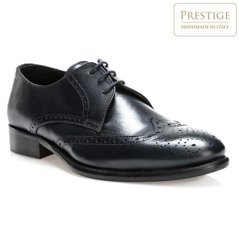 Férfi cipő, sötétkék, 84-M-052-7-44, Fénykép 1