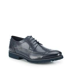 Férfi cipő, sötétkék, 87-M-808-7-39, Fénykép 1