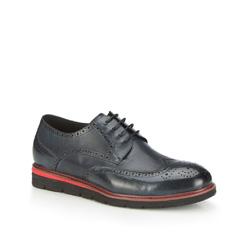 Férfi cipő, sötétkék, 87-M-920-7-41, Fénykép 1