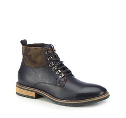 Férfi cipő, sötétkék, 87-M-933-7-44, Fénykép 1