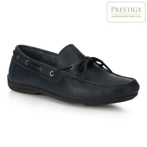 Férfi cipő, sötétkék, 88-M-350-8-44, Fénykép 1