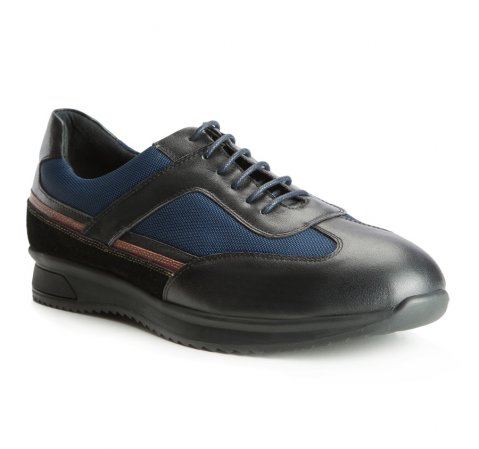 Férfi cipő, sötétkék, 83-M-805-4-40, Fénykép 1