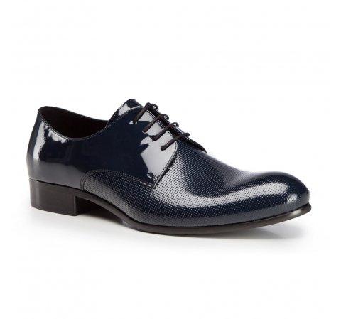 Férfi cipő, sötétkék, 86-M-607-7-44, Fénykép 1