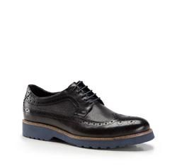 Férfi cipők, sötétkék, 86-M-914-7-44, Fénykép 1