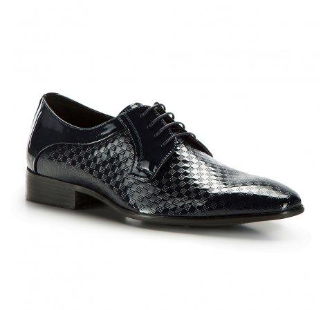 Férfi cipő, sötétkék, 86-M-925-7-44, Fénykép 1
