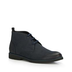 Férfi cipő, sötétkék, 87-M-604-7-40, Fénykép 1