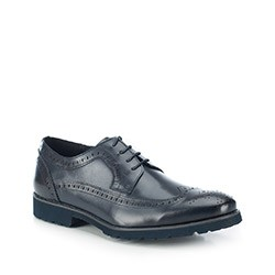 Férfi cipő, sötétkék, 87-M-808-7-41, Fénykép 1