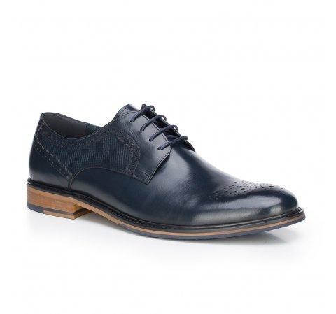 Férfi cipő, sötétkék, 87-M-811-1-44, Fénykép 1