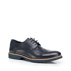Férfi cipő, sötétkék, 87-M-814-7-40, Fénykép 1