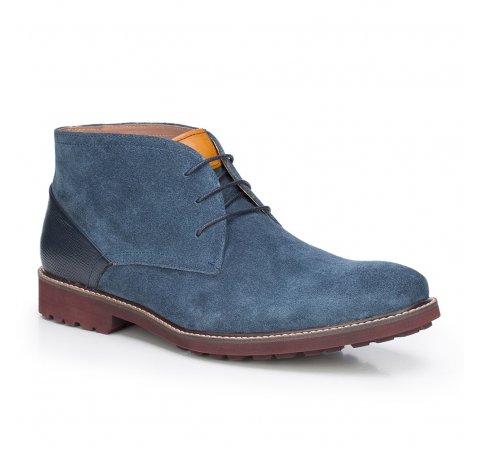 Férfi cipő, sötétkék, 87-M-820-7-44, Fénykép 1