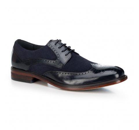 Férfi cipő, sötétkék, 88-M-804-7-40, Fénykép 1
