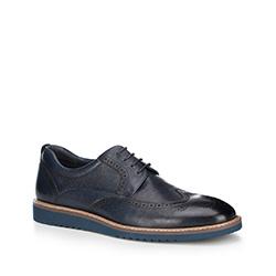 Férfi cipő, sötétkék, 88-M-806-7-44, Fénykép 1