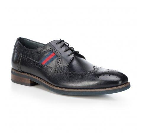 Férfi cipő, sötétkék, 88-M-811-7-45, Fénykép 1