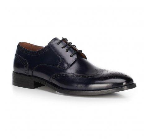 Férfi cipő, sötétkék, 89-M-905-7-39, Fénykép 1