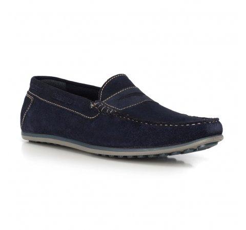Férfi cipők, sötétkék, 90-M-300-3-40, Fénykép 1
