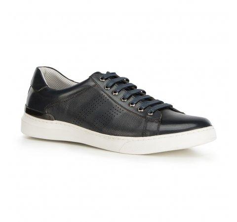 Férfi cipők, sötétkék, 90-M-502-7-42, Fénykép 1