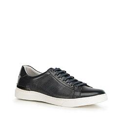 Férfi cipők, sötétkék, 90-M-502-7-45, Fénykép 1