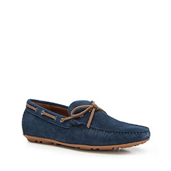 Férfi cipők, sötétkék, 90-M-902-7-39, Fénykép 1