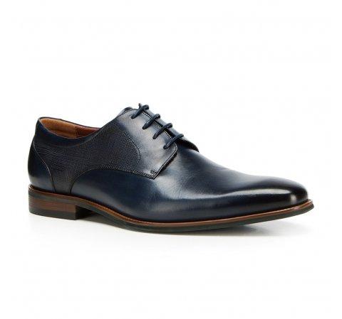 Férfi cipők, sötétkék, 90-M-911-7-44, Fénykép 1