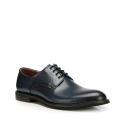 Férfi cipő, sötétkék, 90-M-915-7-41, Fénykép 1