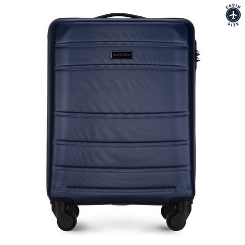 ABS kis bőrönd, sötétkék, 56-3A-651-01, Fénykép 1