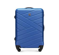 Közepes bőrönd, sötétkék, 56-3A-302-90, Fénykép 1