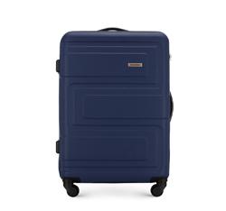 Közepes bőrönd, sötétkék, 56-3A-632-90, Fénykép 1