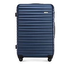 Nagy bőrönd, sötétkék, 56-3A-313-91, Fénykép 1