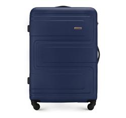 Nagy bőrönd, sötétkék, 56-3A-633-90, Fénykép 1