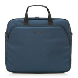 Laptop táska nejlonból nagy, sötétkék, 91-3P-605-7, Fénykép 1