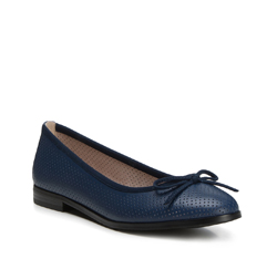 Női cipő, sötétkék, 88-D-959-7-36, Fénykép 1