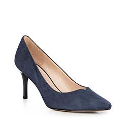 Női cipő, sötétkék, 90-D-951-7-37, Fénykép 1