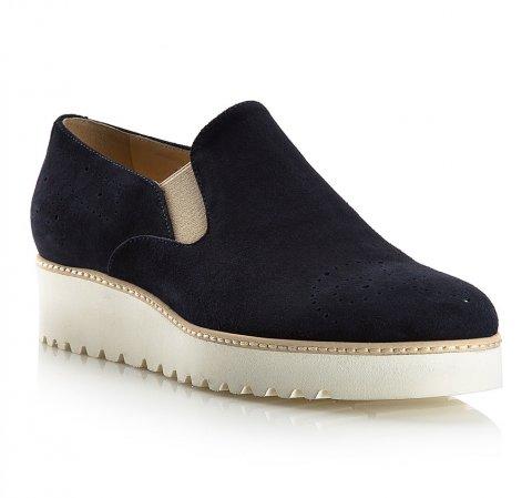 Női cipő, sötétkék, 80-D-118-0-39_5, Fénykép 1