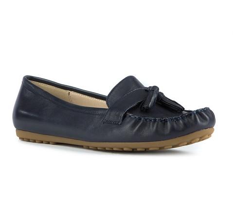 Női cipő, sötétkék, 81-D-518-9-36, Fénykép 1
