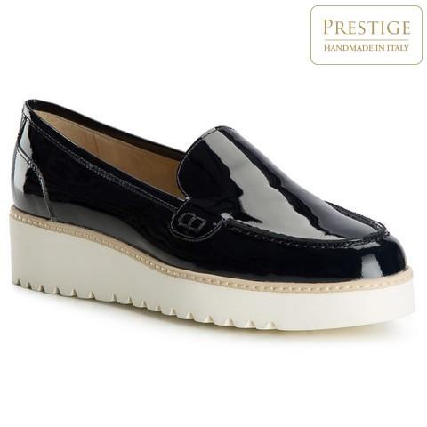 Női cipő, sötétkék, 82-D-103-P-39_5, Fénykép 1