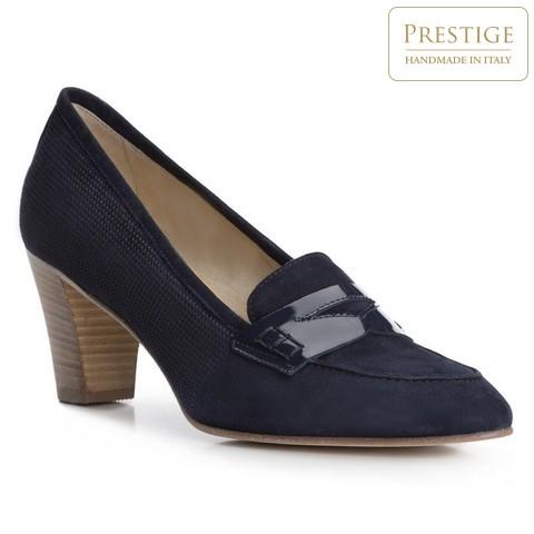 Női cipő, sötétkék, 84-D-104-7-35, Fénykép 1