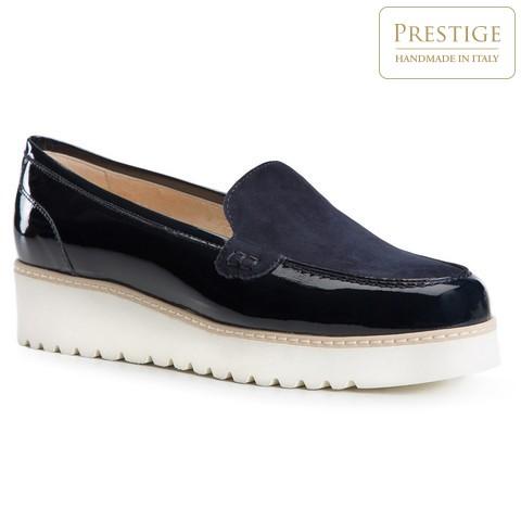 Női cipő, sötétkék, 84-D-111-7-35, Fénykép 1