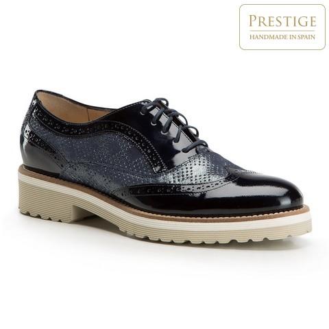Női cipő, sötétkék, 86-D-100-9-37_5, Fénykép 1
