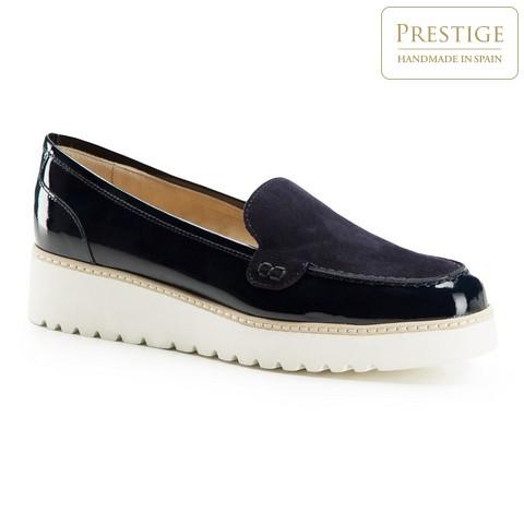 Női cipő, sötétkék, 86-D-103-9-38_5, Fénykép 1