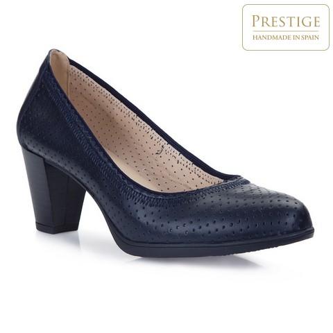Női cipő, sötétkék, 86-D-302-0-36, Fénykép 1