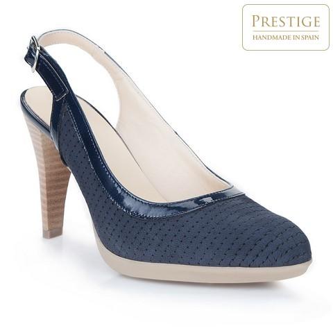Női cipő, sötétkék, 86-D-304-7-35, Fénykép 1