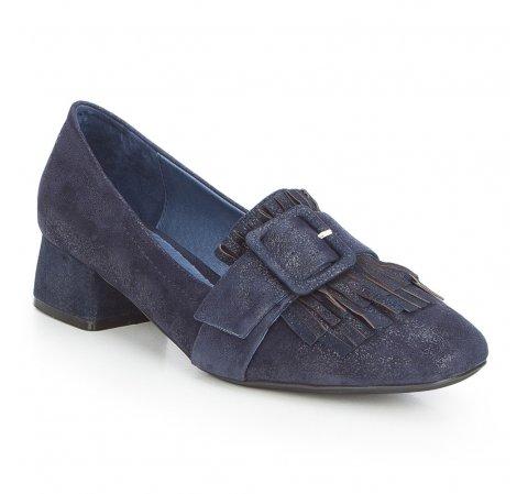 Női cipő, sötétkék, 87-D-918-7-35, Fénykép 1