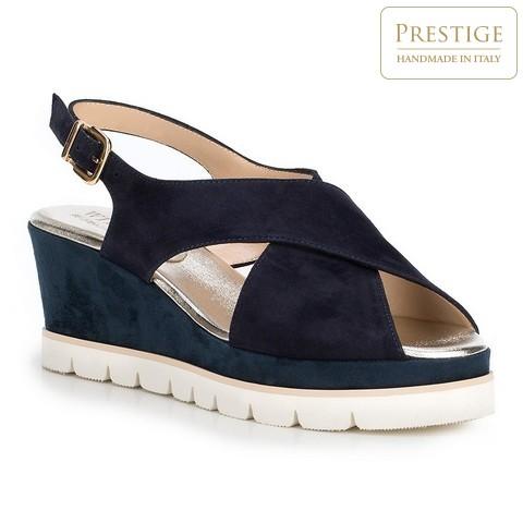 Női cipő, sötétkék, 88-D-109-7-41, Fénykép 1