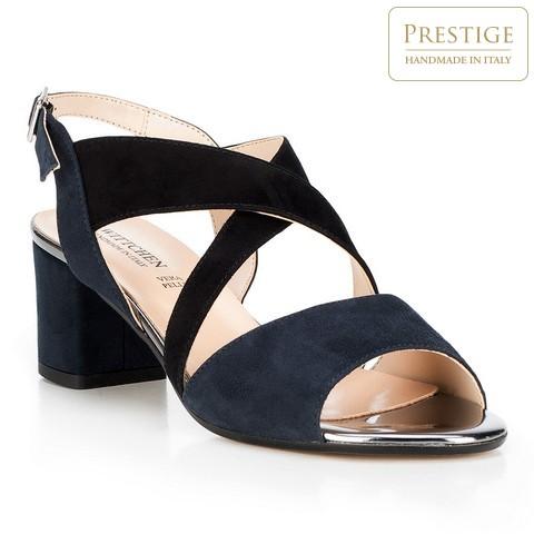 Női cipő, sötétkék, 88-D-403-9-35, Fénykép 1