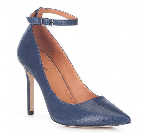 Női cipő, sötétkék, 88-D-551-7-36, Fénykép 1
